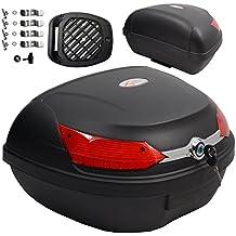 Baúl de Moto Universal 46 LT A-pro, desenganche rápido, para Equipaje en
