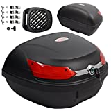 A-pro Top Case Box 48 LT Universal Quick Rlease Motorcycle Scooter Luggage Quad