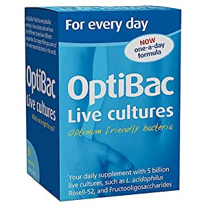OptiBac Probiotics For every day – Pack of 30 Capsules