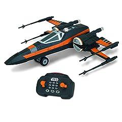 Idea Regalo - Giochi Preziosi - Star Wars Il Risveglio della Forza - Astronave U Command X-Wing con Radiocomando ad Infrarossi, Lunghezza 33 cm