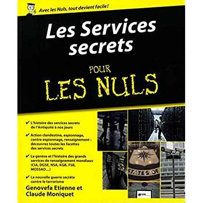 Les Services secrets pour les Nuls