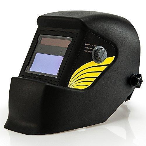 Automatik Schweißhelm | großes Sichtfeld | für alle gängigen Schweißtechniken - Schweißmaske Schweißschirm Solar Schweißschild Schutzhelm