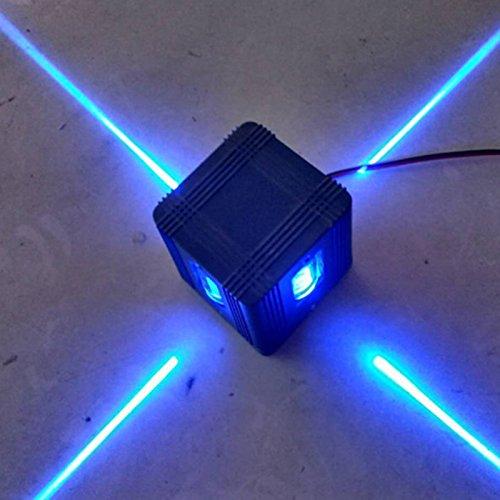 Wandleuchte Leuchte,Cross Starlight Lampe im Freien wasserdichte Gebäude Außen Dekor Licht 4W LED -