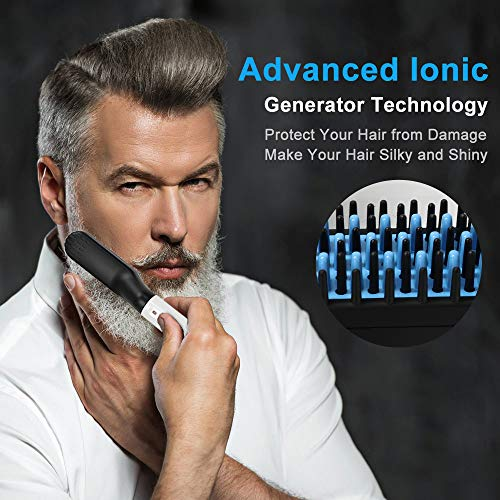 Electric-BeardHair-Straightener-Brush-Comb
