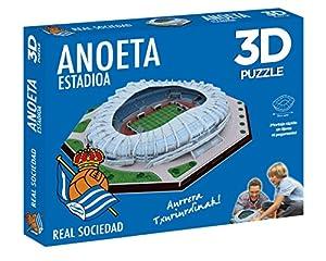 Eleven Force- Puzzle Estadio 3D Anoeta (Real Sociedad) (63485),, Ninguna (1)