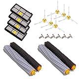 Brosses filtres de pièces pour iRobot Roomba Série 800et 900980966960865870875876Accessoires Brosse latérale avec vis