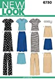 New Look NL6730 Patron de Couture Jupe + Pantalon + T-Shirt 22 x 15 cm...