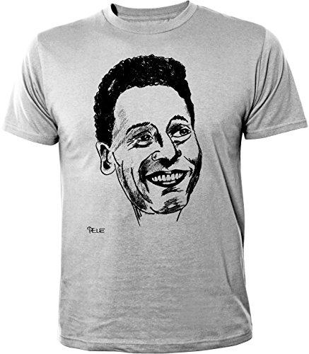 Mister Merchandise Cooles Herren T-Shirt Pele Pelé Edson Arantes do Nascimento Grau