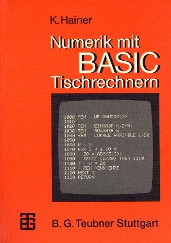 Numerik mit BASIC-Tischrechnern