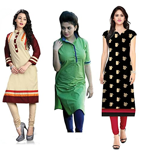 kurties for womens party wear low prices pack of 3 new collection...