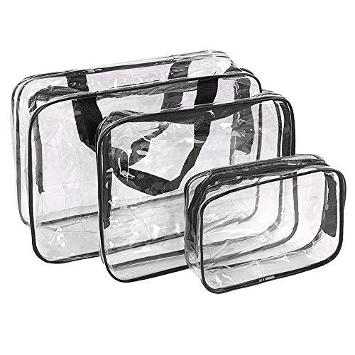 c67f5b24d Bolsas Aseo Transparente Neceser PVC Impermeable Mujer