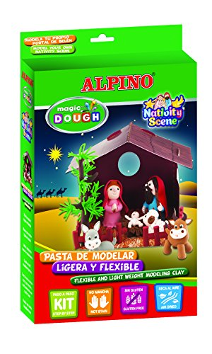 Alpino – Portal Belén Magic Dough, multicolor (330918)