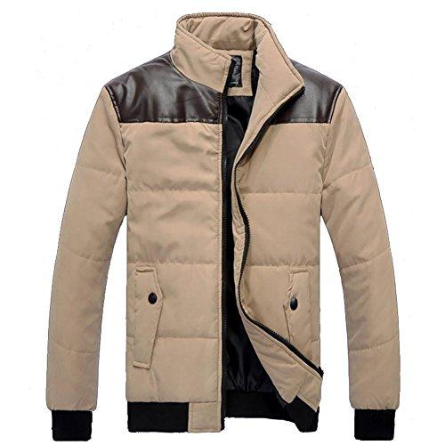 M&C Winter Männer warme Baumwolle Große Nähte dick Baumwolle aus Kleidung