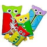 SU Die Spielzeuge Der Kinder, Die Lernbrett-Eulenpuppen Für 3-6 Jahre Alte Lehrmittel Puzzeln, Erziehe Elternteilkind
