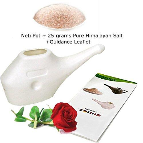 Neti Pot limpieza nasal 25G Pure sal Himalaya +