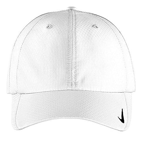 Authentique Nike Sphere Dry rapide Swoosh Profil bas réglable brodé Blanc - Cap