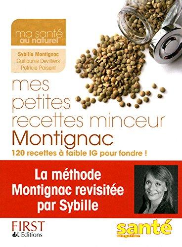 Mes petites recettes minceur Montignac