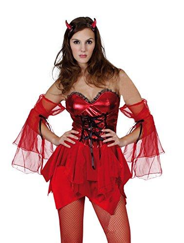Kostüm Himmel Party Hölle Und - Boland 87363 - Kostüm Teufelin, Einheitsgröße 36 - 42