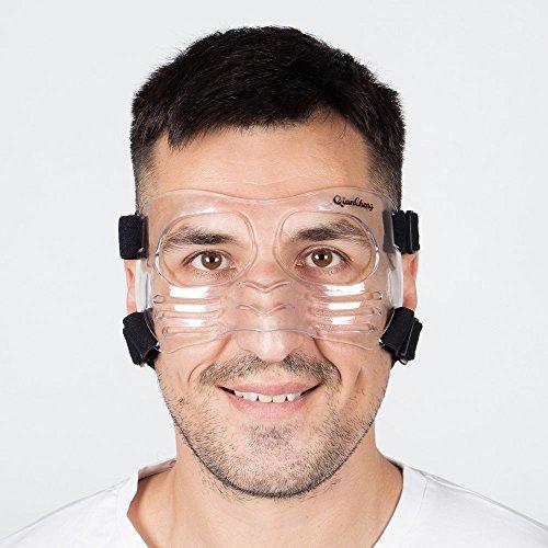 QianCheng, maschera protettiva per naso e viso LX