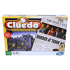 Hasbro Gaming Cluedo The Classic Detective Board Game for Ages 7 and Up for 3-6 Players