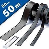 Etichette magnetiche per scaffalature e arredi metallici - Profili a C / etichette magnetiche, larghezza 50 mm, venduto al 50m rotolo