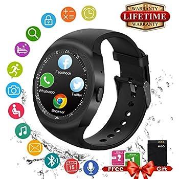 Montre Connectée Bluetooth Smart Watch Montre Intelligente Sport Wrist Watch
