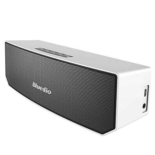 Bluedio BS-3 (Camel) altavoces inalambricos bluetooth speaker portatil bocina exterior para fiesta (Blanco)