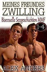 Meines Freundes Zwilling 1-4: Bisexuelle Sexgeschichten MMF (Zwillingssex)
