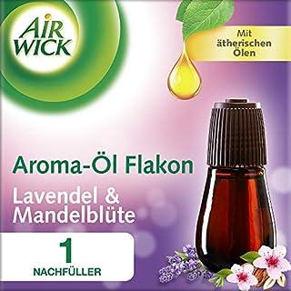 Air Wick Aroma Diffuser Flakon Lavendel & Mandelblüte mit ätherischen Ölen, Nachfüller für Aroma-Öl Diffuser, 1 Stück (1 x 20ml)