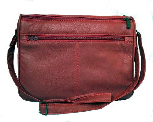 Lorenz, Borsa a spalla donna Medium Rosso (rosso)