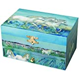 Trousselier Horses Camargue Musical Jewellery Box