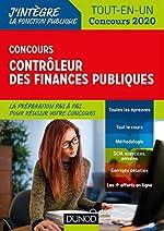 Concours Contrôleur des finances publiques - Tout-en-un - Concours 2020 de Pierre Beck