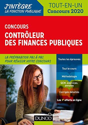 Concours Contrôleur des finances publiques - Tout-en-un - Concours 2020 par  Pierre Beck, Marie-Virginie Speller, Frantz Badufle, Anne-Marie Vallejo-Bouvier
