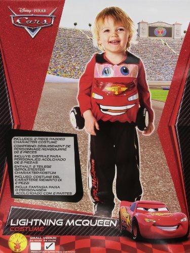 Imagen de rubie`s  disfraz infantil de cars 2 mcqueen deluxe 884667 m