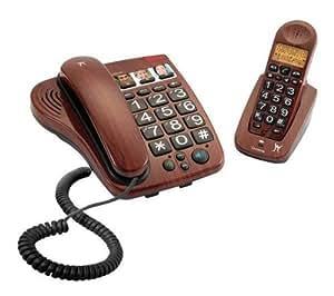 LEXIBOOK Téléphone Dect Senior Duo + Filtre ADSL . .