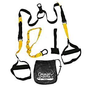 Protone suspension strap training system - Bodyweight Strength And Fitness Training - Home Gym - Fitness