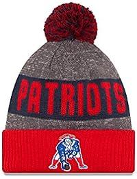 9b6eb375e9bf7 New England Patriots New Era 2016 NFL Official Sideline Sport Knit Hat  (Classic Logo)