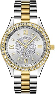 JBW Mondrian 16 Diamonds & Swarovski Crystal Encrusted, Bezel Watch For W