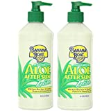 Banana+Boat Banana Boat Aloe After Sun Lotion, 16 Ounce Bottle (Pack of 2)