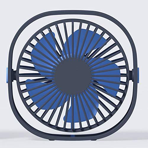 HDDDLWKX USB-Desktop-Lüfter 3 Archive Variable Geschwindigkeit Kann 360 Grad drehen Mini-Kleinlüfter tragbare Mini-Klimaanlage DC-Lüfter Tisch - Variable Geschwindigkeit Lüfter