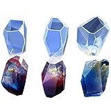 artstore DIY multifacettierten Diamant Silikon Klar Gussformen für Schmuckherstellung, Polymer Clay, Epoxidharz -