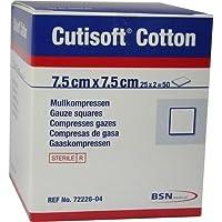 CUTISOFT Cotton Kompr.7,5x7,5 cm steril 50 St Kompressen preisvergleich bei billige-tabletten.eu
