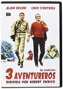 3 Aventureros - Les Aventuriers - Director: Robert Enrico - Alain Delon.
