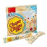 Chupa Chups Choco Snack Bianco - 18 Confezioni da 5 barrette [90 barrette]