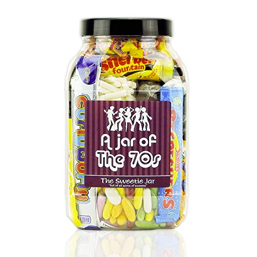 A Jar of The 70's - Retro Sweets - Large Size