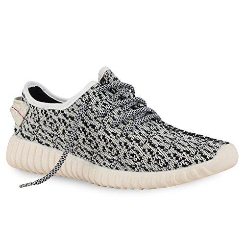 napoli-fashion, Sneaker uomo, Bianco (bianco), 44