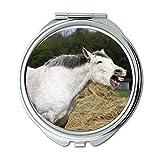 Yanteng Spiegel, Schminkspiegel, Tierheim, Taschenspiegel, tragbarer Spiegel