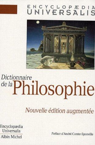 Dictionnaire de la Philosophie par René Alleau