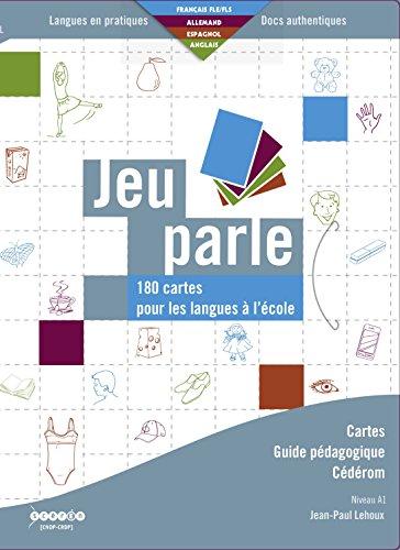 Jeu parle : 180 cartes pour les langues à l'école (1Cédérom)