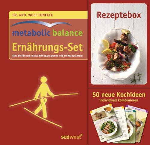 Preisvergleich Produktbild Metabolic Balance Ernährungs-Set: Buch mit Rezeptkarten